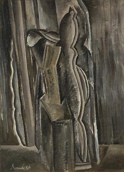 Giorgio Morandi - Natura morta con portaorologio, 1915
