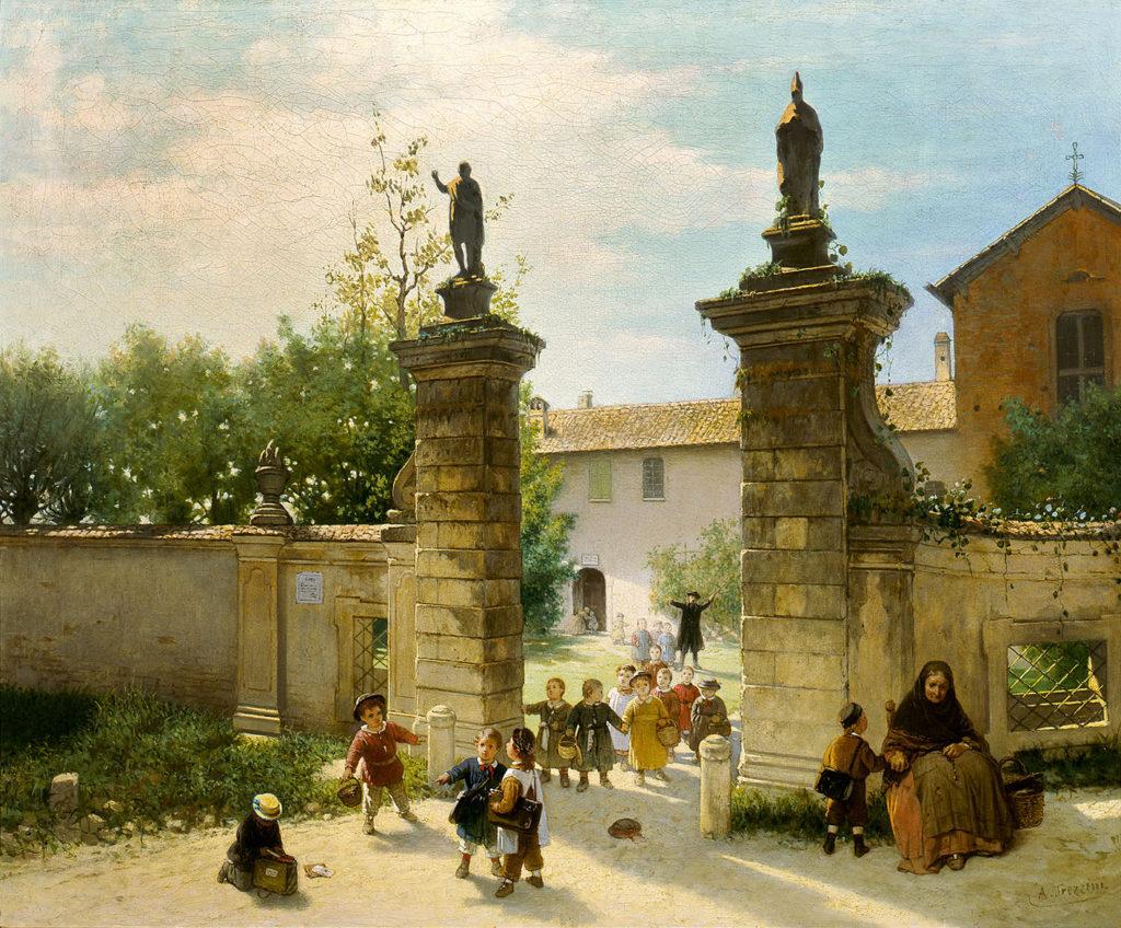 La passeggiata del giovedì - Il Fopponino, 1869