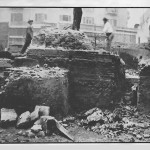Pusterla di Sant'Ambrogio 1925-30 durante i restauri 3