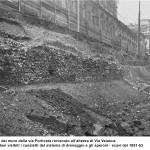 Tratto del Muro delal via Porticata in corso di Porta Romana 1
