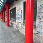 2015 03 10 Piazza Cadorna degrado 2