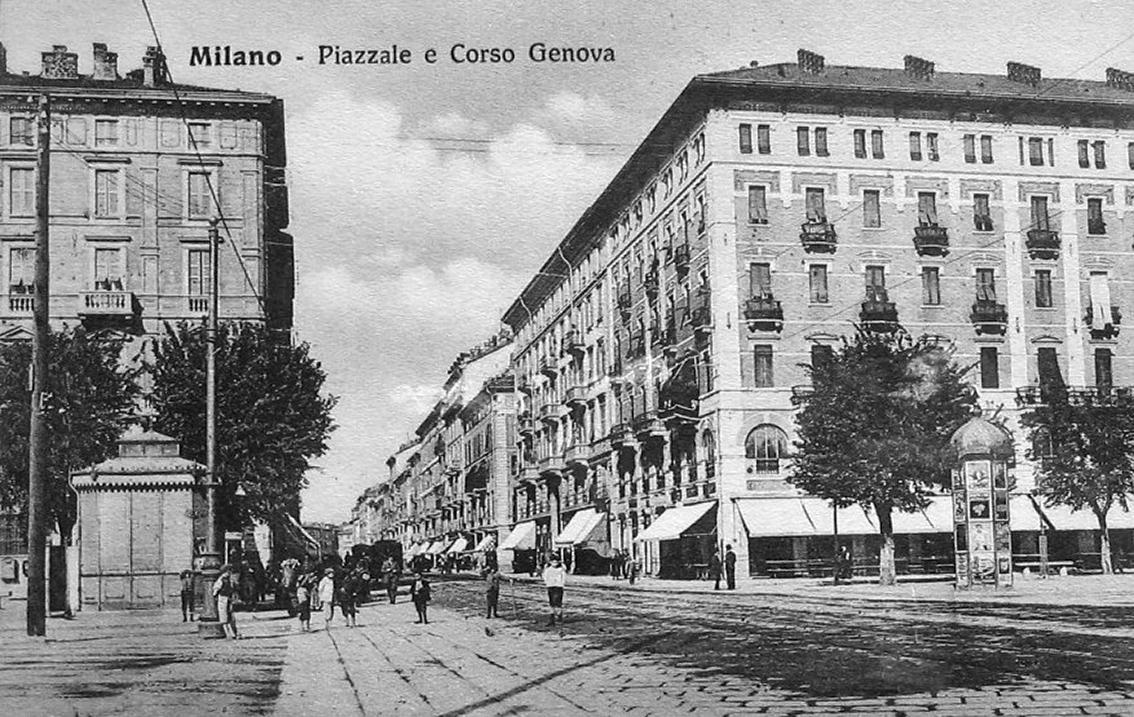 Milano porta genova 100 anni dopo piazzale cantore for Corso di porta genova milano