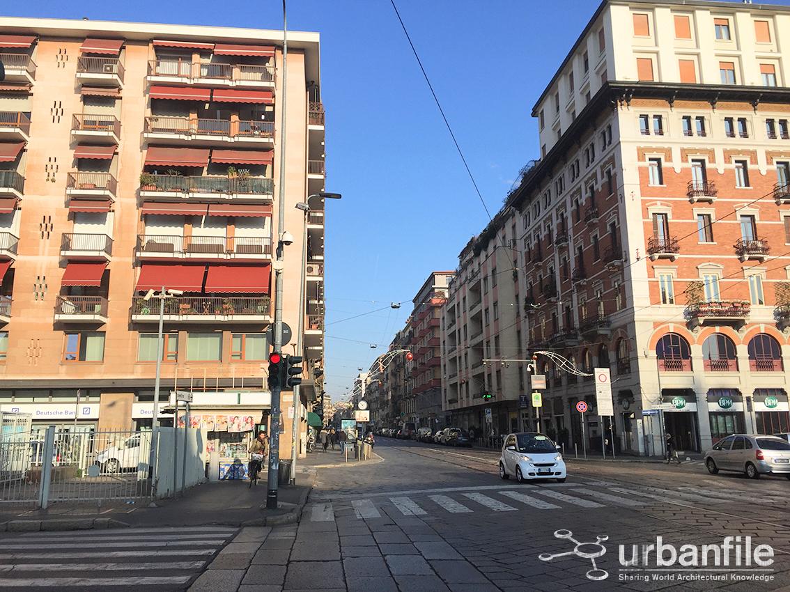 Milano porta genova 100 anni dopo piazzale cantore - Carabinieri porta genova milano ...