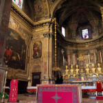 Altare e abside di Sant Alessandro