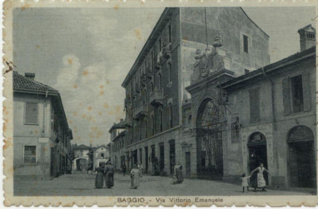 Baggio antica, via Vittorio Emanuele Ora Via Antonio Ceriani