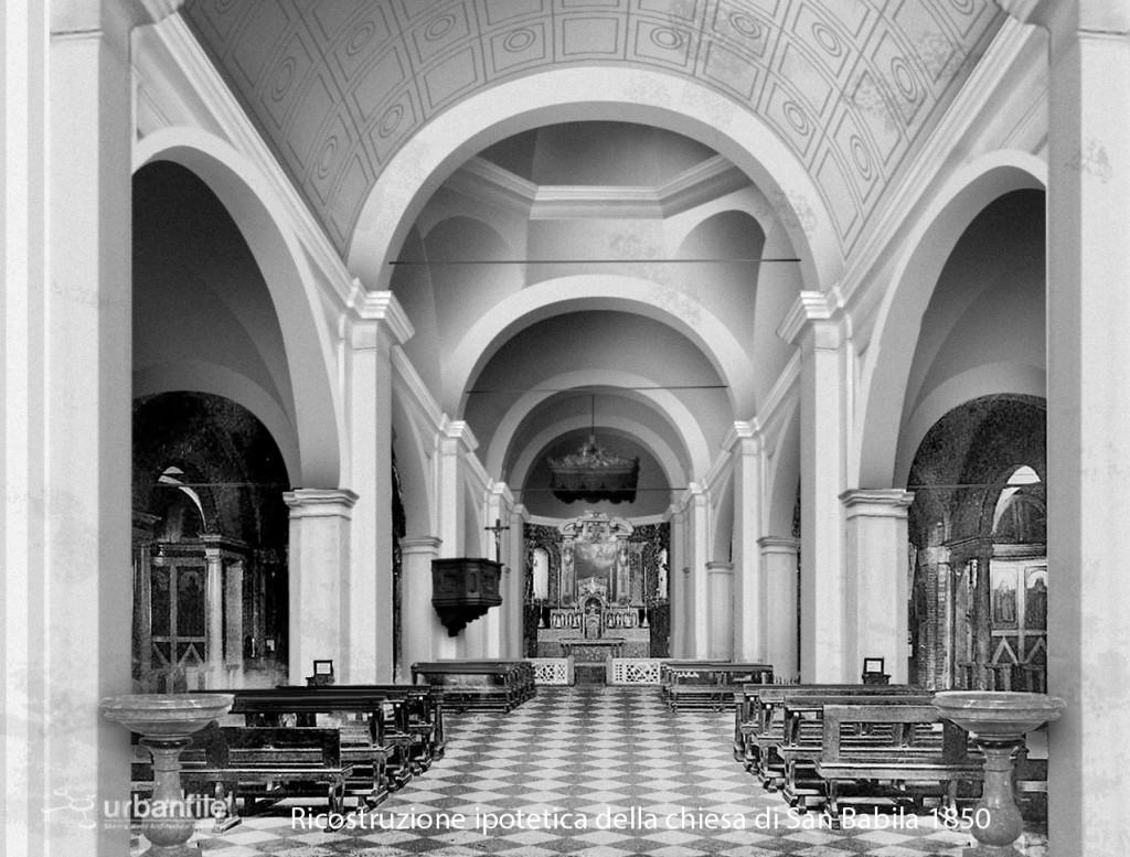 Chiesa_San_Babila_1850_Interno