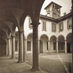 Cortile di Palazzo Gorani