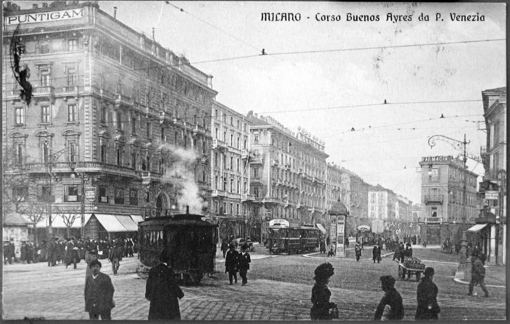 Lampioni_Arredo_Urbano_Corso Buenos Ayres 1905-10