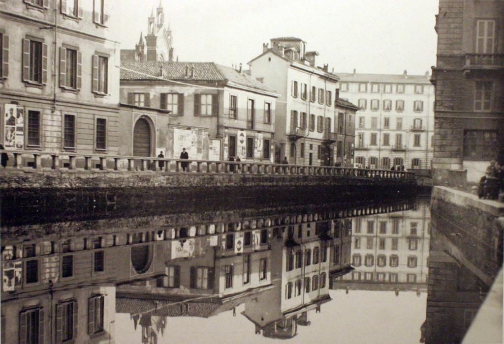 Parte finale del laghetto di San Marco, al centro spunta la chiesa di San Marco