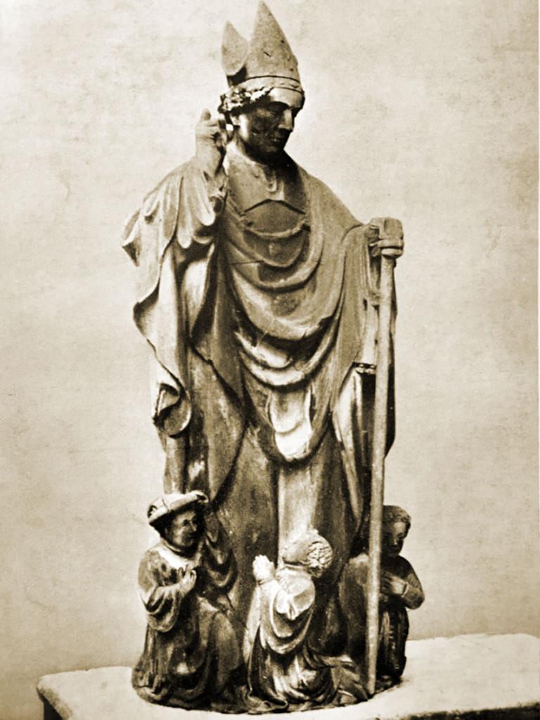 Statua di San Babila sul Duomo