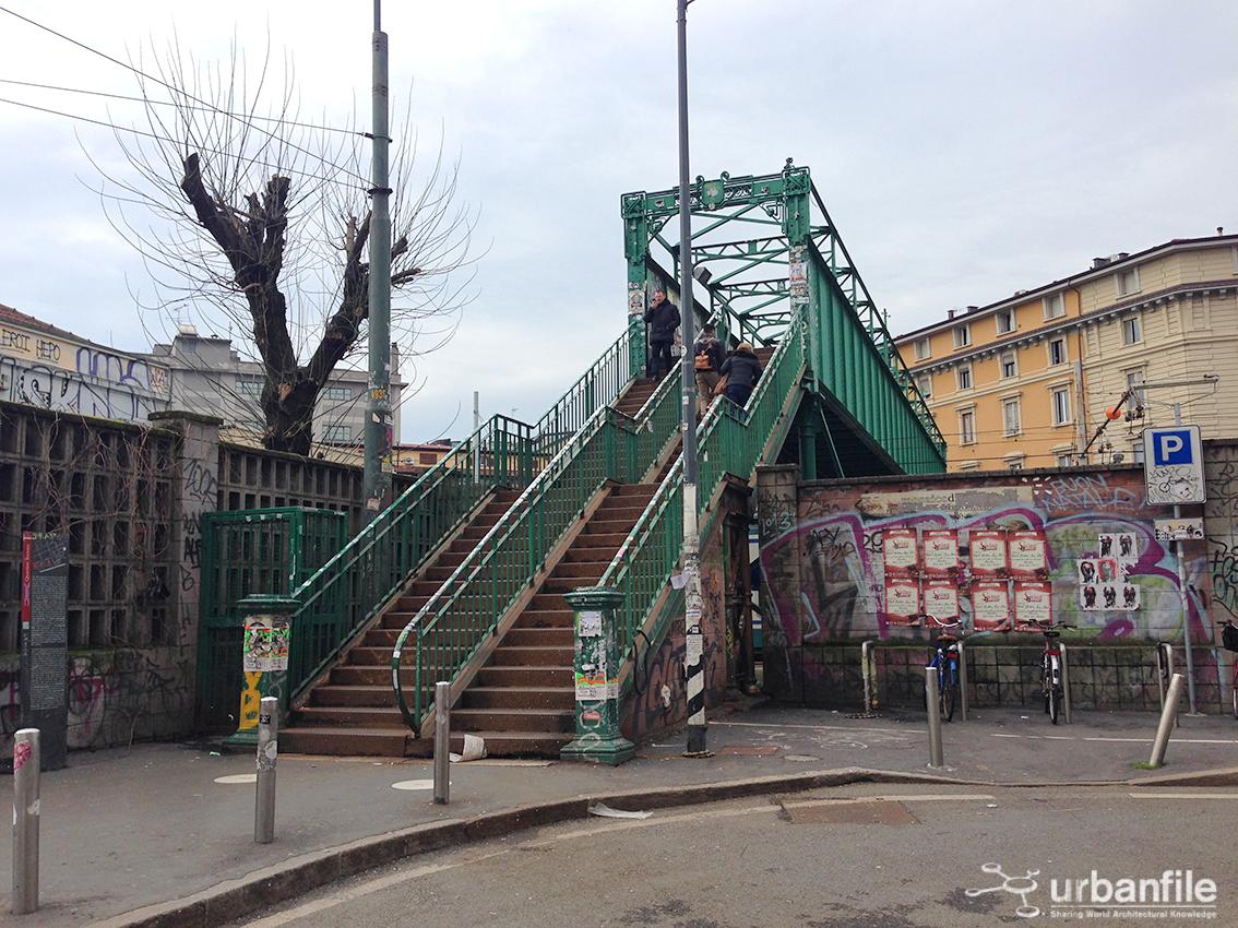 Milano porta genova il ponte verde da mettere in for Tortona milano