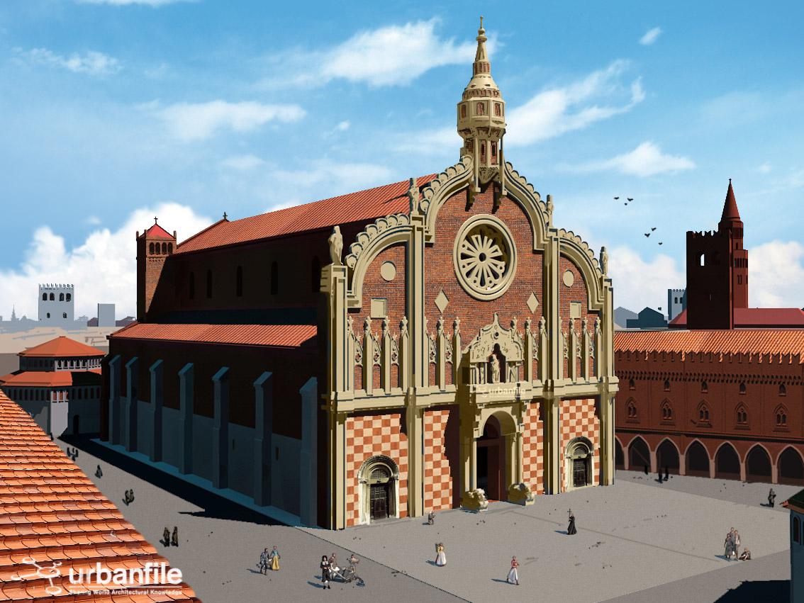 Milano Duomo Quanti Progetti Per La Facciata Del Duomo
