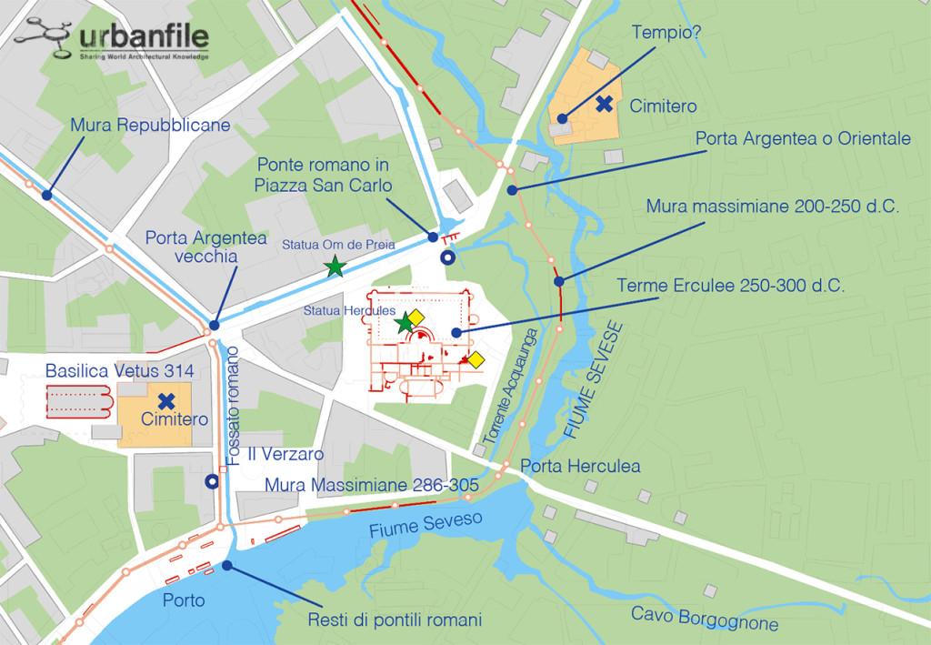 Area_Terme_Romane_Mediolanum