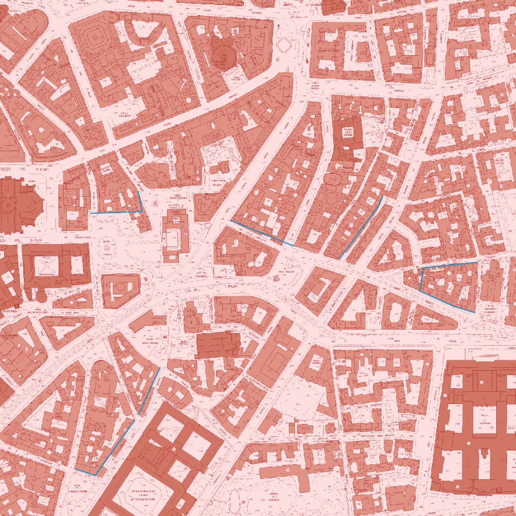 Milano Mappa Vittoria