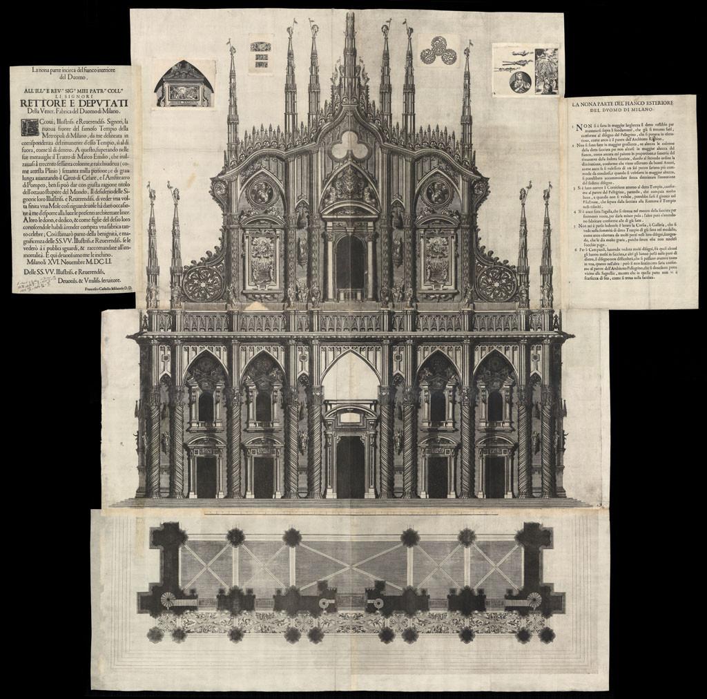 Progetto_Facciata_Duomo_Milano_1651_Francesco_Castelli