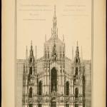 Progetto_Facciata_Duomo_Milano_Gaetano_Moretti