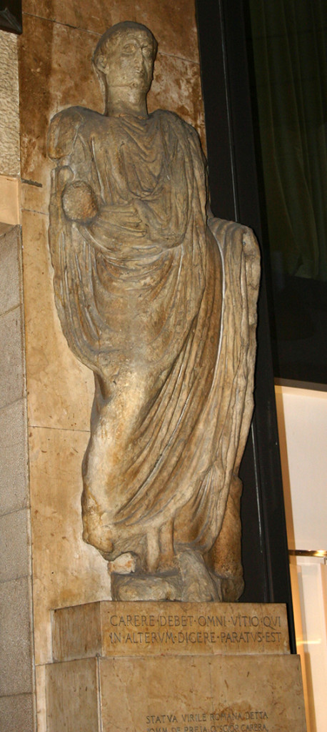 Statua_romana_del_Scior_Carera_2