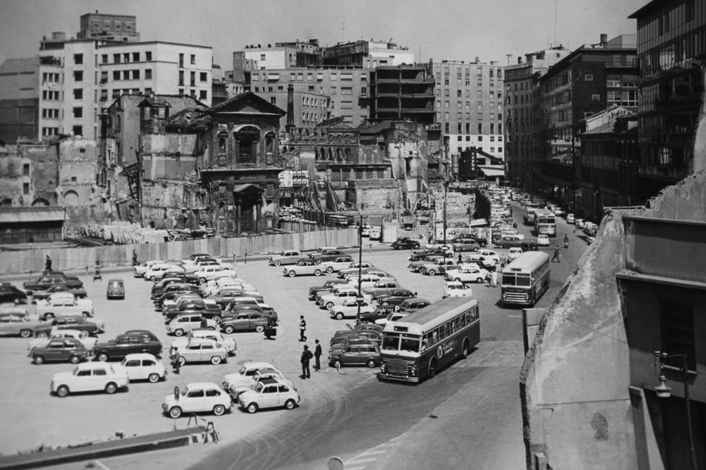 Zona del Pasquirolo 1950-55