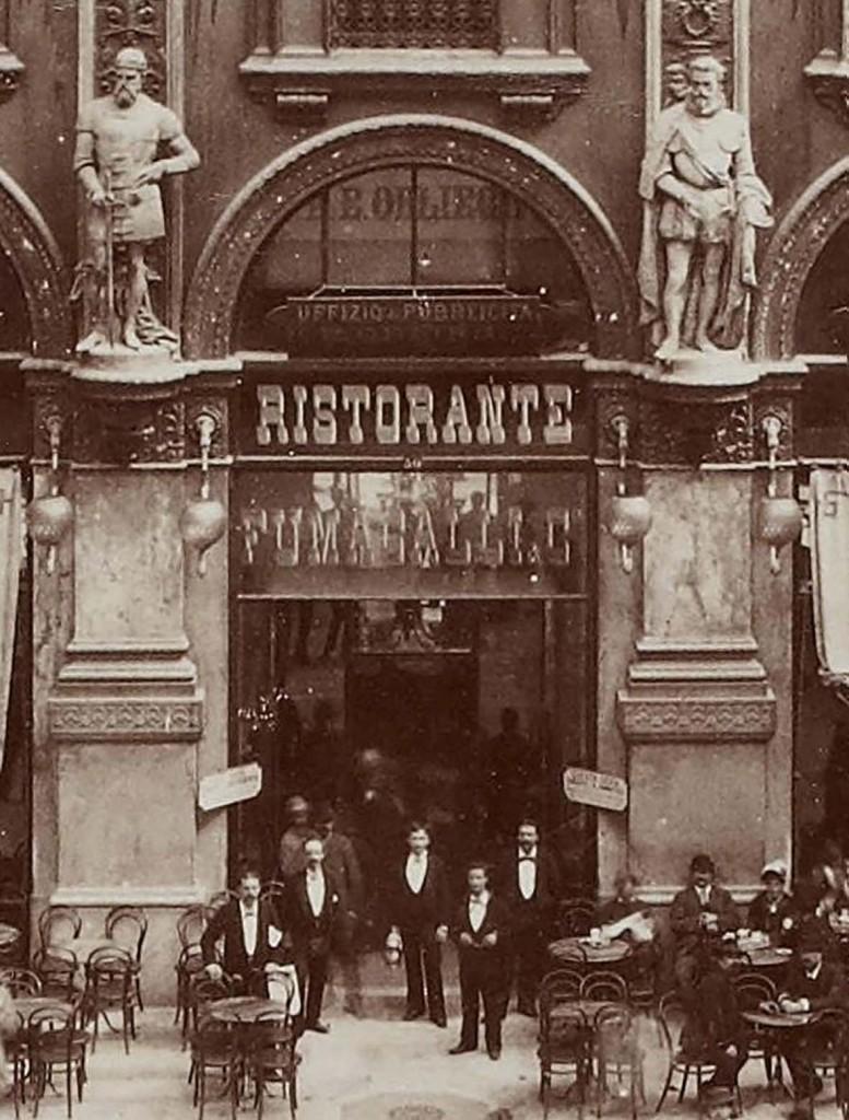 Galleria Vittorio Emanuel Sculture 1890-93