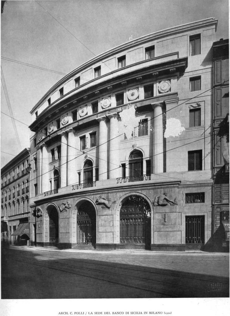 Sede del Banco di Sicilia 1932-0
