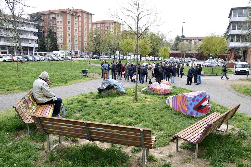 Milano creta primaticcio inaugurato il giardino for Acero rosso milano