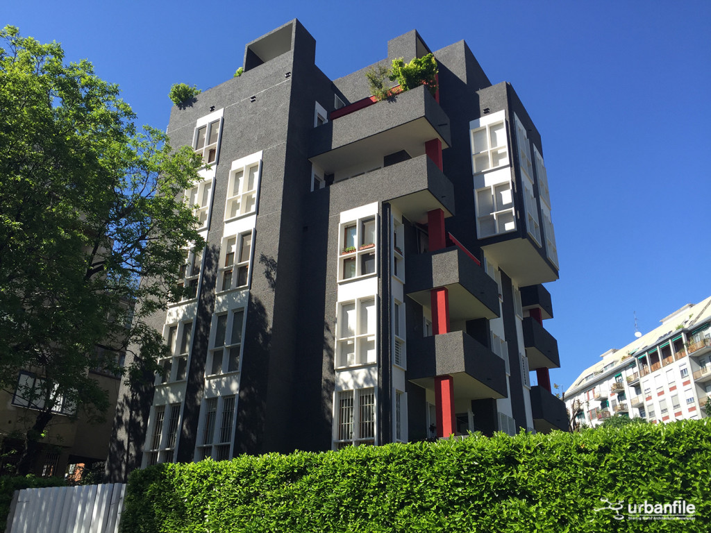 Milano nolo giacosa 47 bel brutalismo urbanfile blog for Palazzo 24