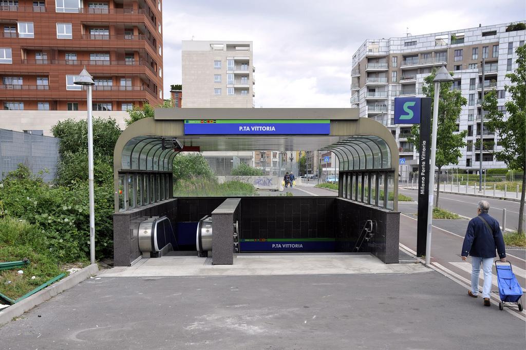 Milano Porta Vittoria Aperto Nuovo Ingresso Al