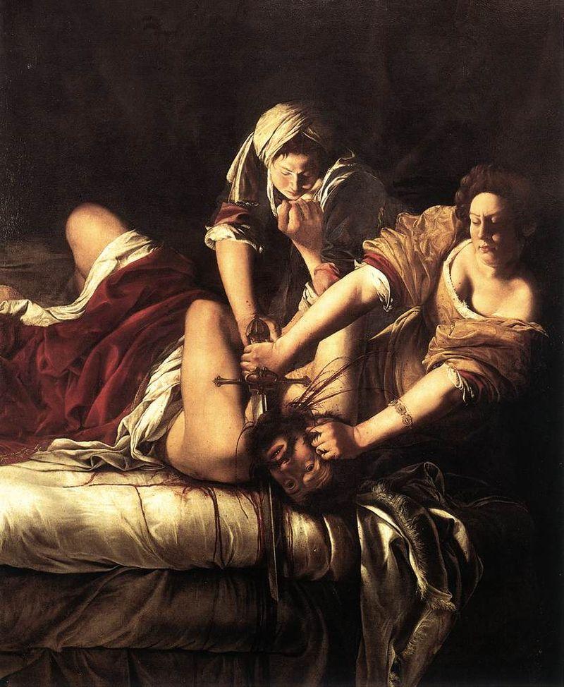 Artemisia Gentileschi-Giuditta che decapita Oloferne