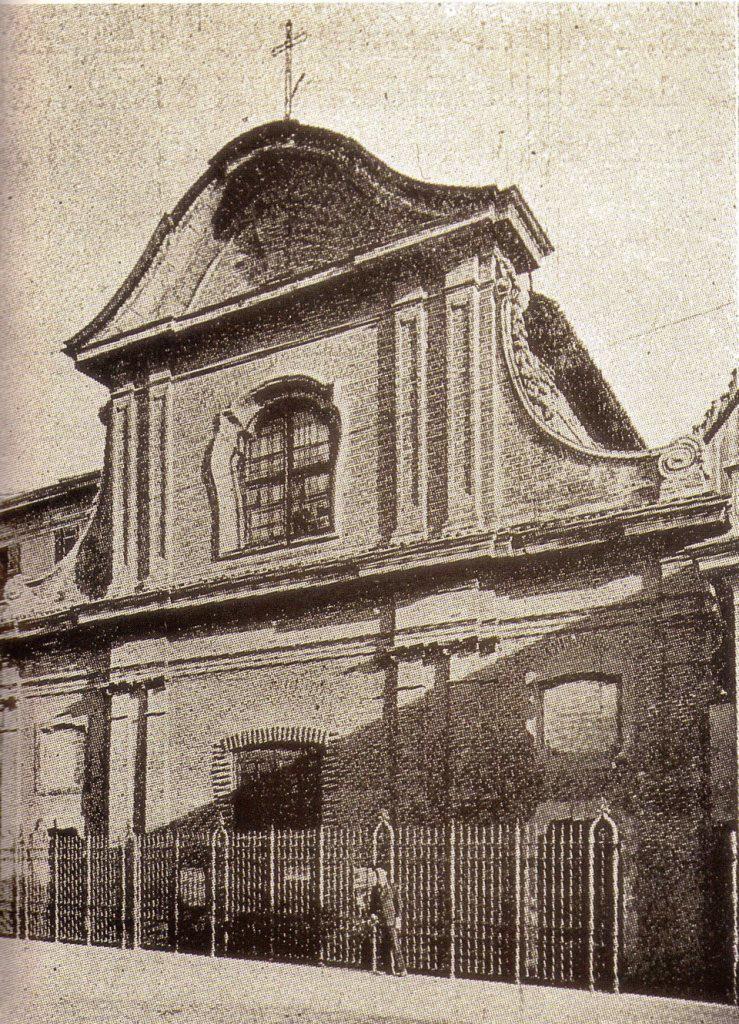 Porta Genova - Chiesa di San Calocero Facciata 1920