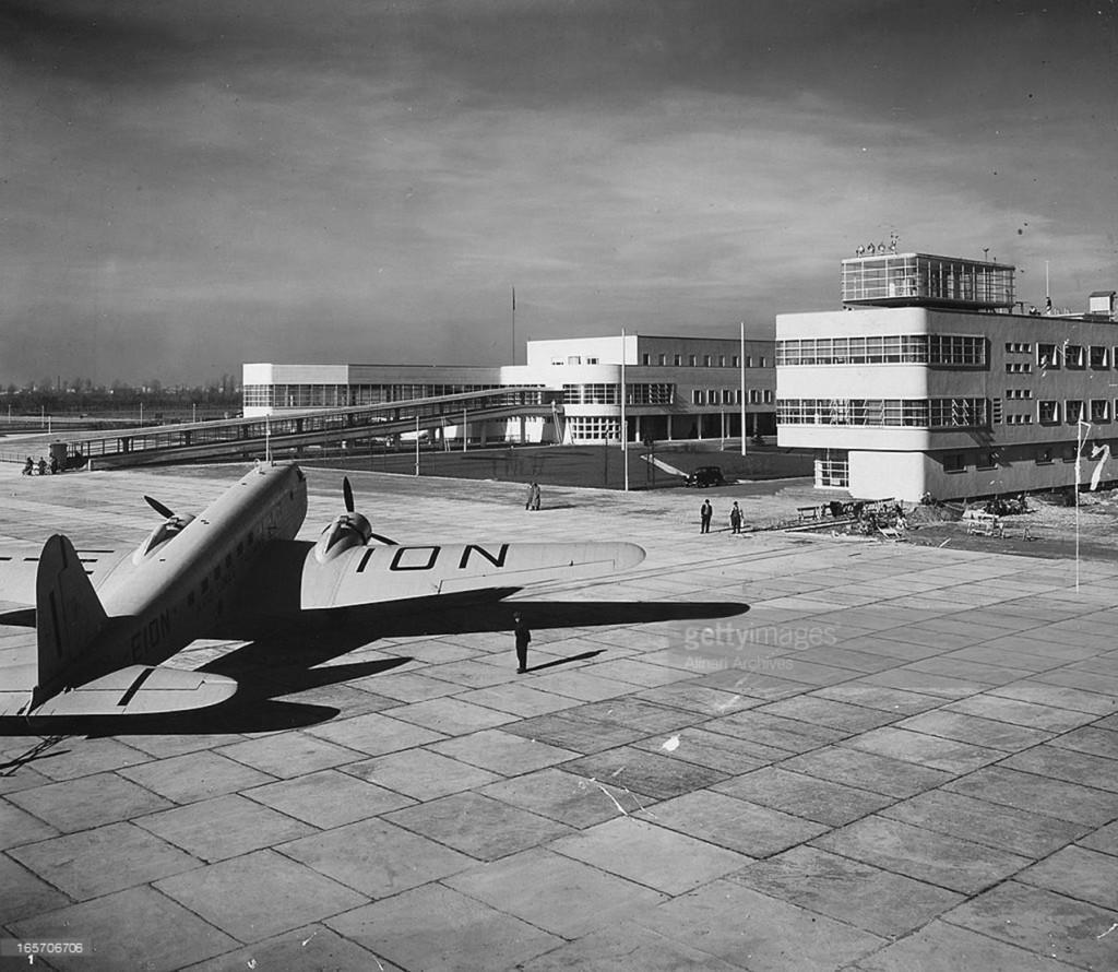 0_Aeroporto di Linate_Enrico Forlanini_1945-48