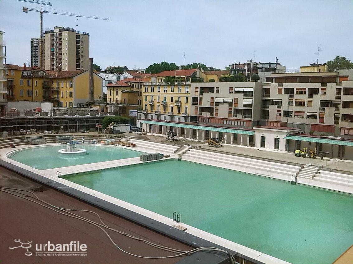Milano porta romana immagini dalla piscina caimi quasi - Piscina immagini ...