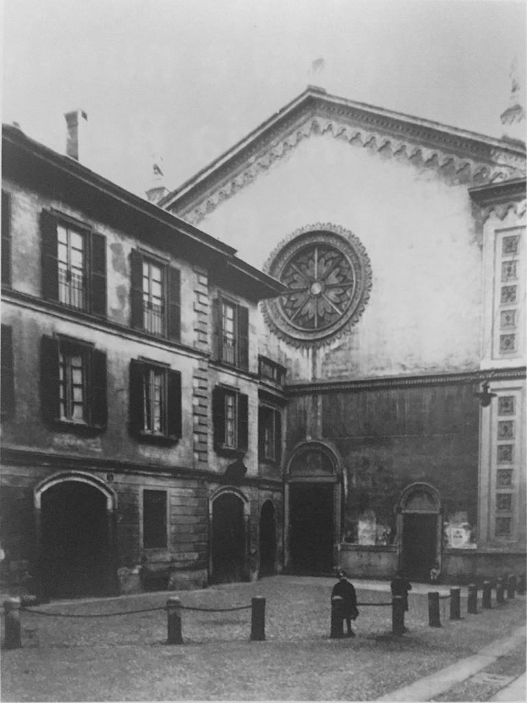 Santa Maria Beltrade e piazzetta 1905-1915