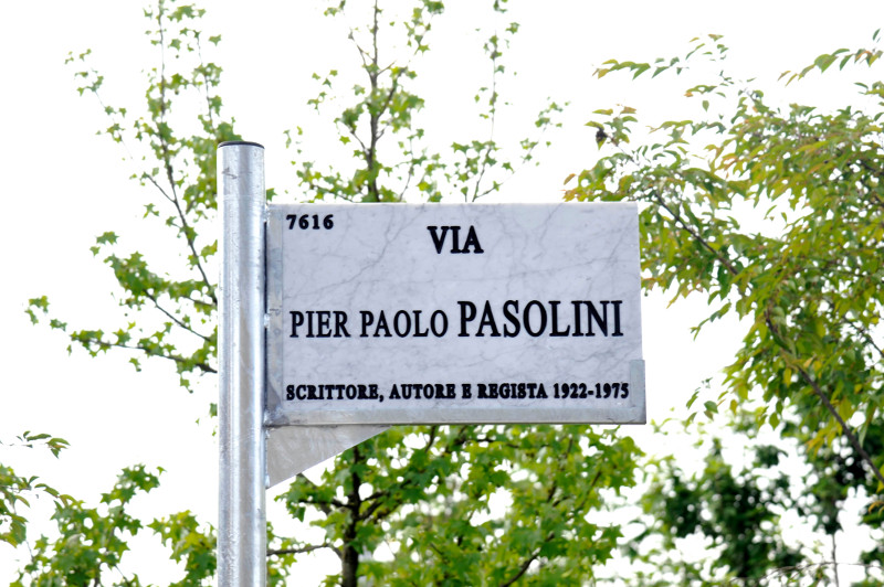 via Pier Paolo Pasolini