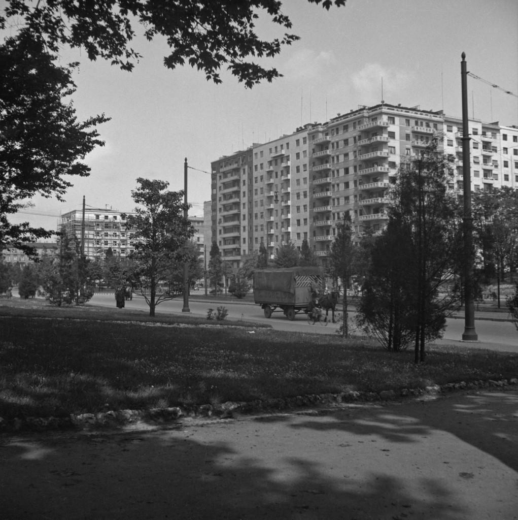 Piazza della Repubblica - Piazzale FIume, 1938-39 (Foto Walter Schröder) 1