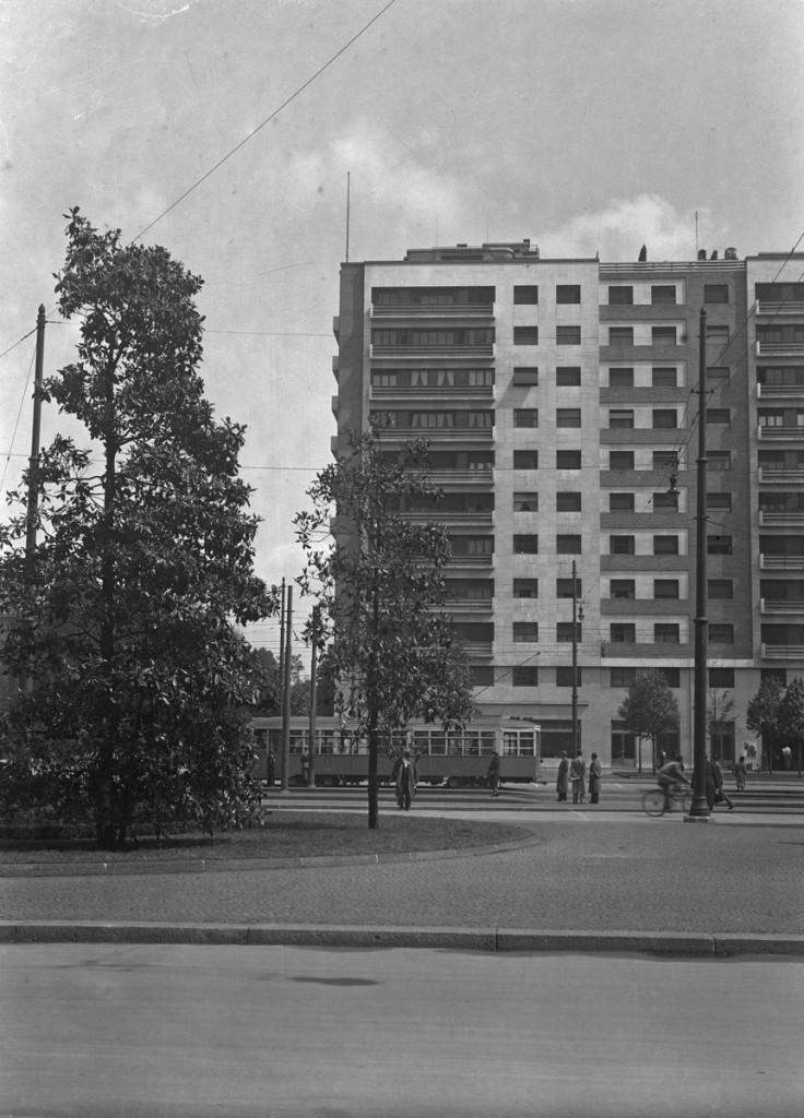 Piazza della Repubblica - Piazzale FIume, 1938-39 (Foto Walter Schröder) 4