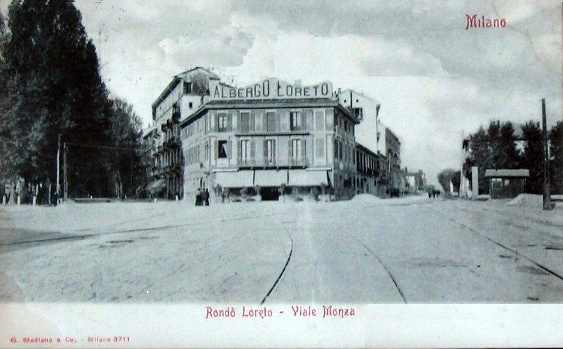 Viale Monza 1896 a Loreto