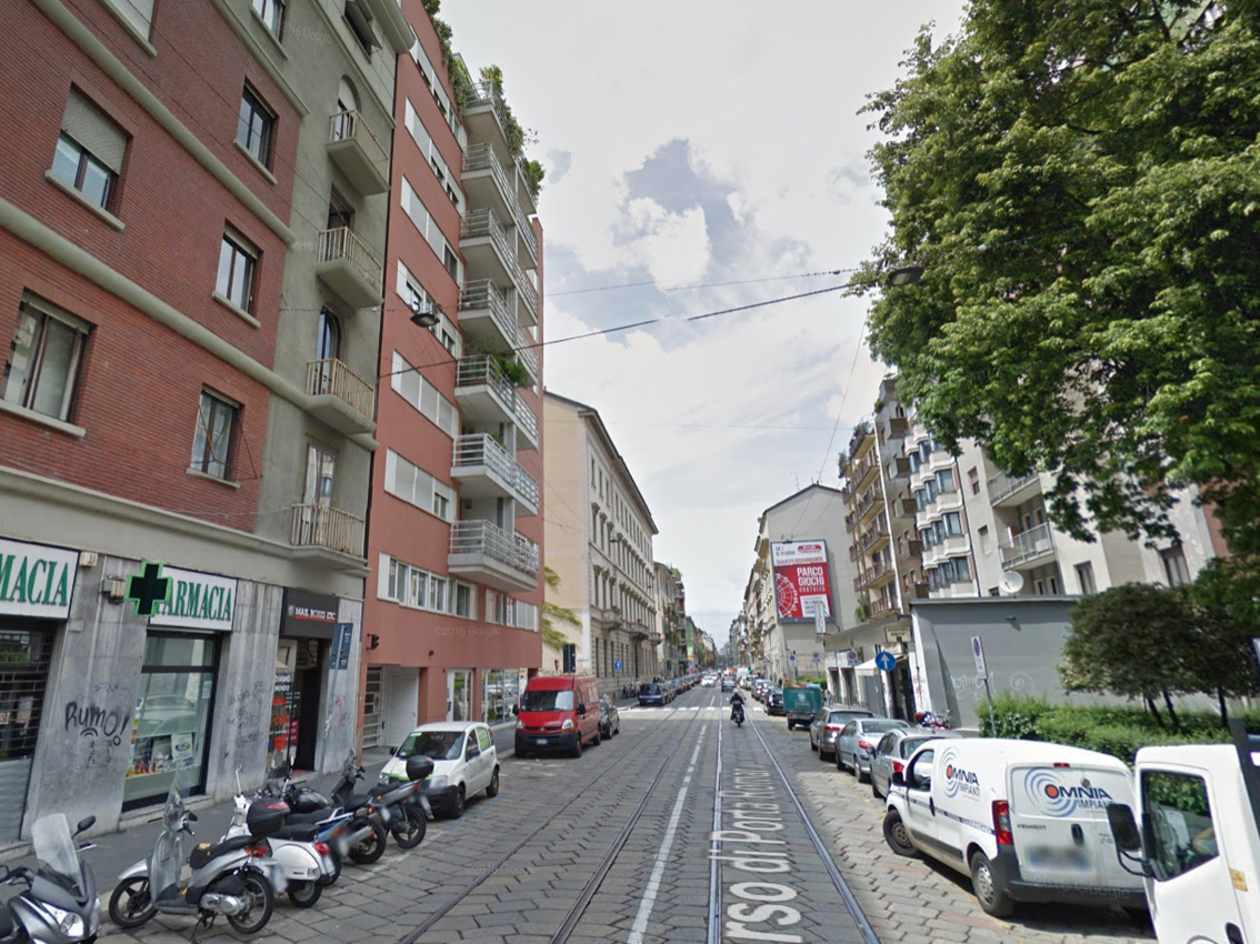 Milano porta romana toh che sorpresa un giardino al for Porta romana