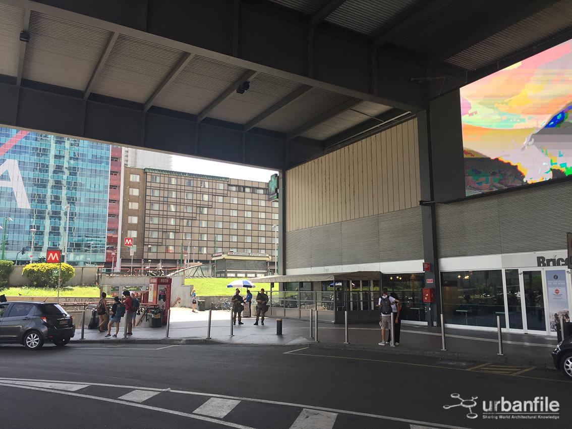 Milano porta garibaldi lavori alla stazione garibaldi - Stazione porta garibaldi indirizzo ...
