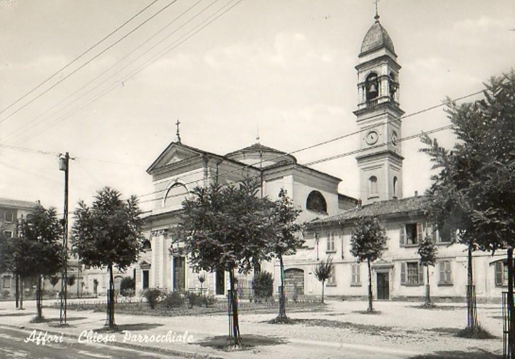 Affori Chiesa Parrocchiale di Santa Giustina 1930