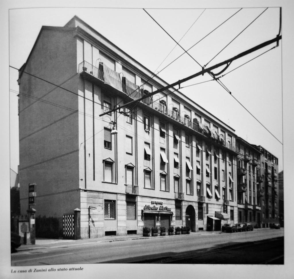 Casa economica di via Pellegrino Rossi, 2. arch. Gigiotti Zanini 1980-85
