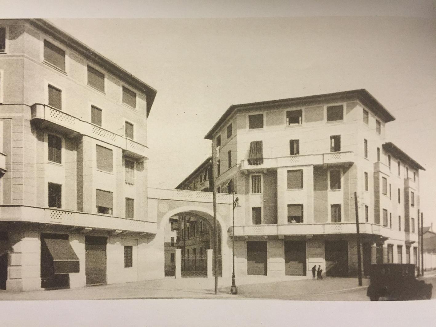 Milano la fontana un angolo interessante di for Architettura case