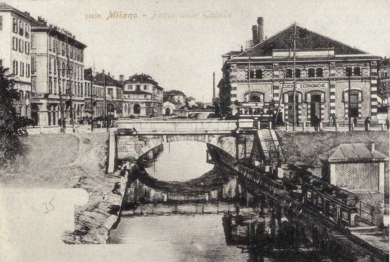 Milano | Porta Nuova - Quando l\'acqua scorreva... a Gioia ...