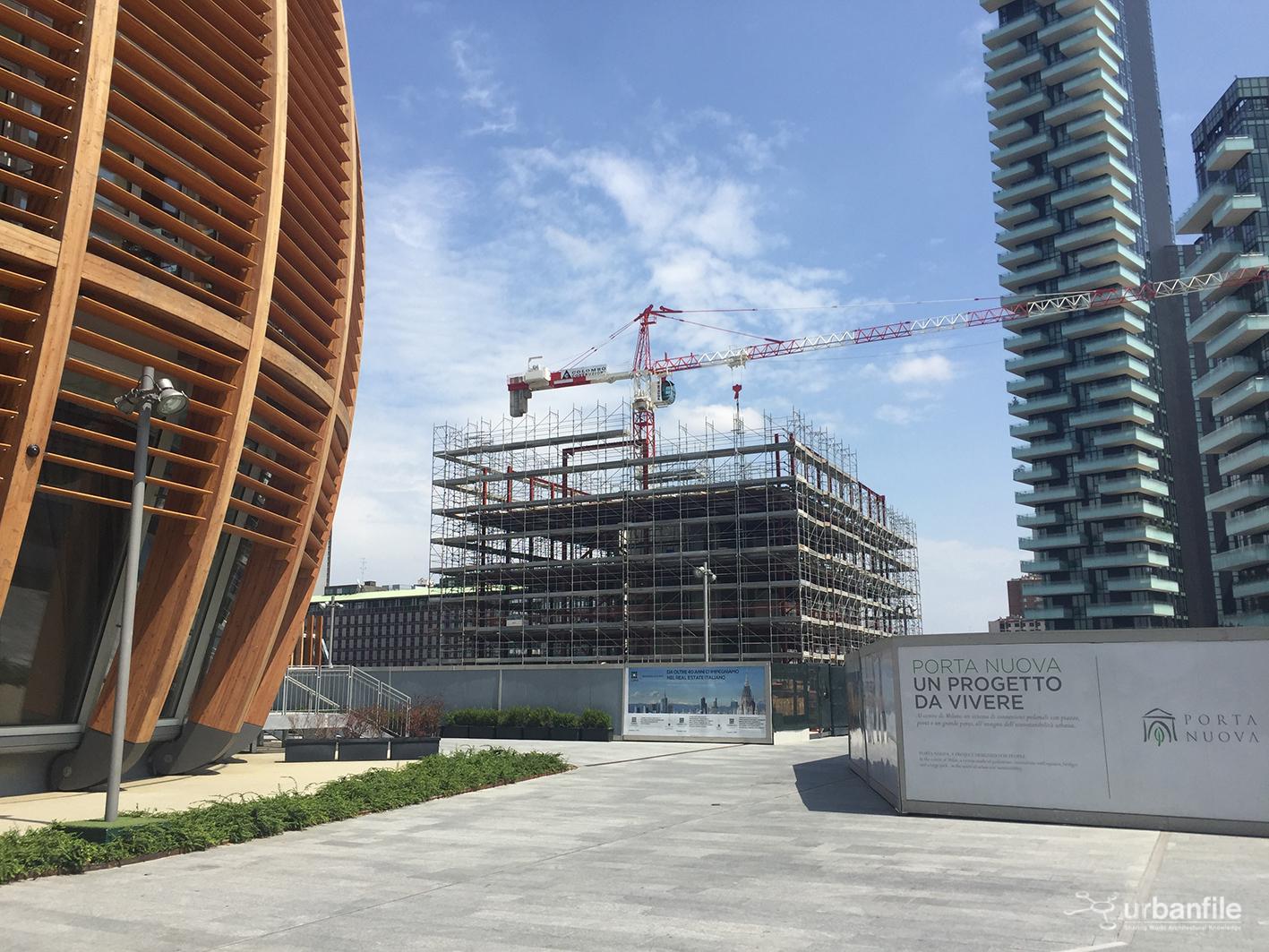 Milano porta nuova he3 aggiornamento urbanfile blog - Residenze di porta nuova ...
