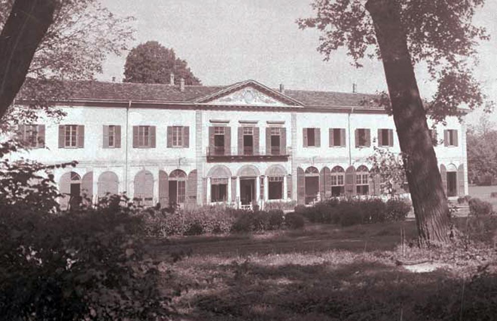 Gorla_Villa_Finzi_Parco_1930-35