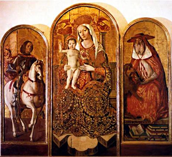 Santa Maria Segreta_Pala_Quattrocentesca