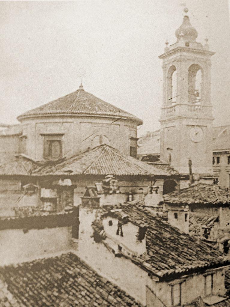 Santa_Maria_Segreta_1905_Tiburio e Campanile