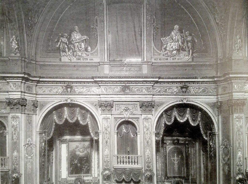 Santa_Maria_Segreta_1910_interno