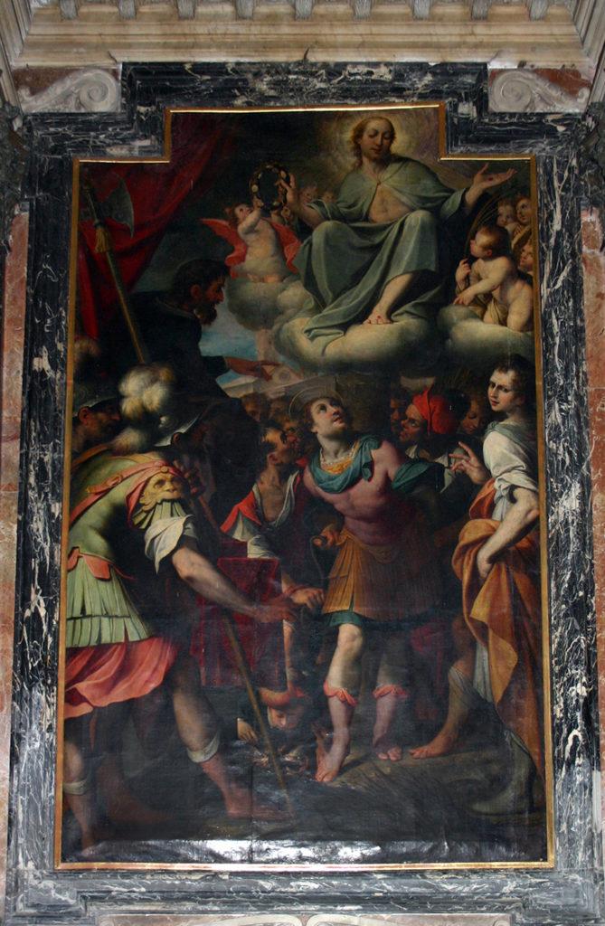 Santo_Stefano_Camillo_Procaccini_martirio_di_San_Teodoro
