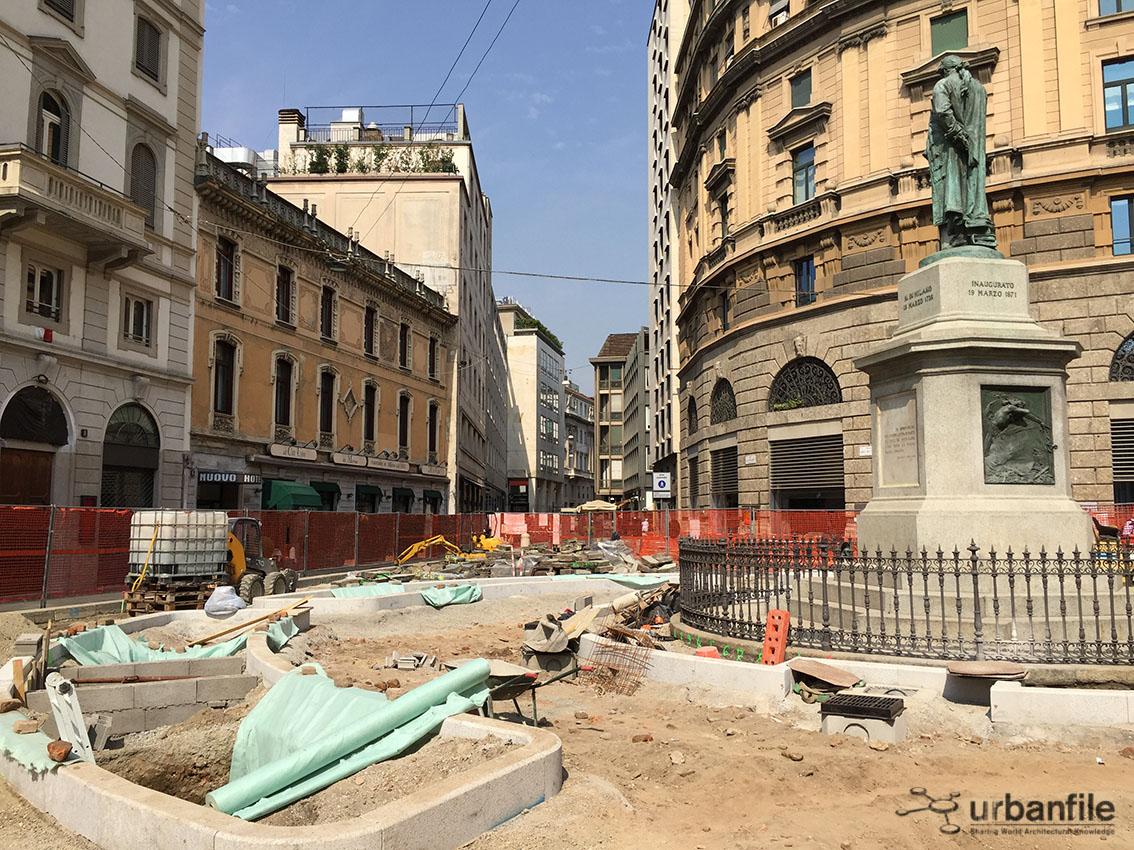 Milano pasquirolo aggiornamento piazza beccaria met for Piazza beccaria