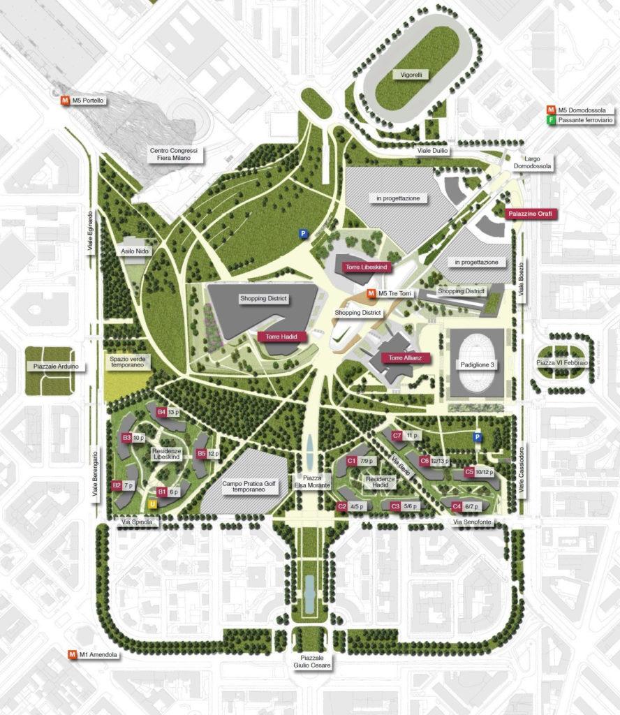 Masterplan_CityLife_Tre_Torri